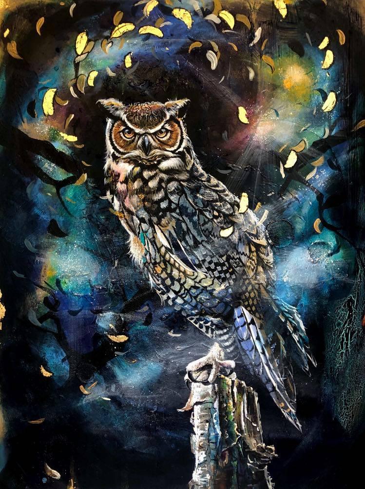 Owl by Marie Plosjö