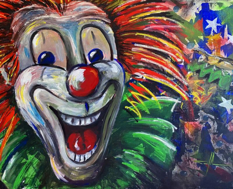 """Happy Clowniac - a real clown"""" av Tomas Johansson"""